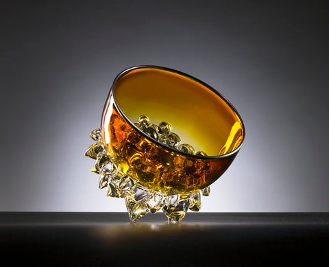 Gold Topaz Thorn Vessel