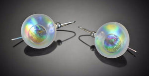 Opaline Atomic Earrings