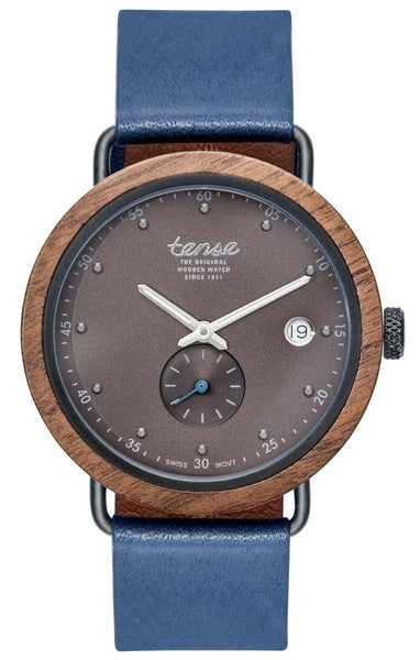 Hudson Leather Watch