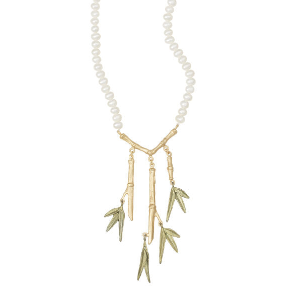 Bamboo Branch Necklace