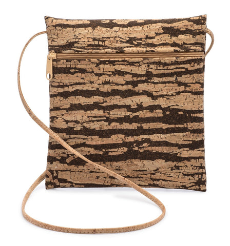 Bark Cork Cross Body Bag