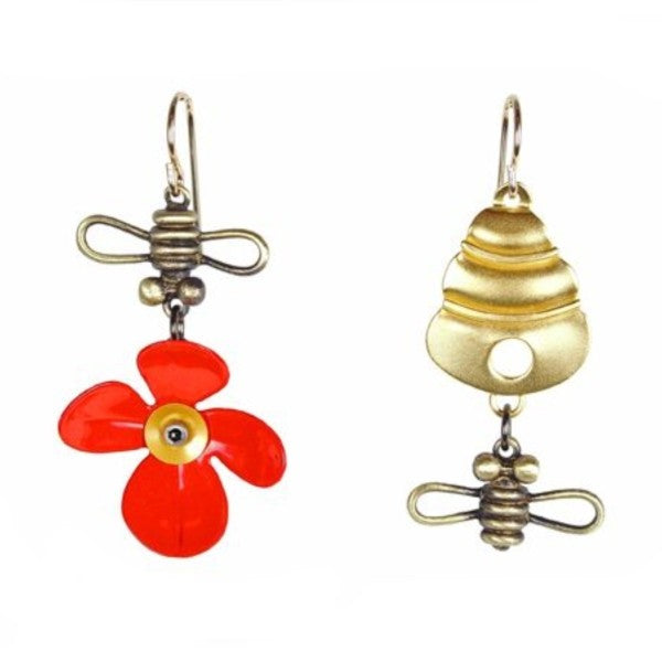 Bee Line Earrings