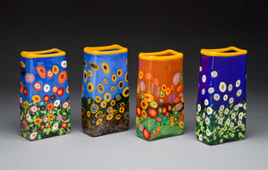Wildflower Rectangle Vase