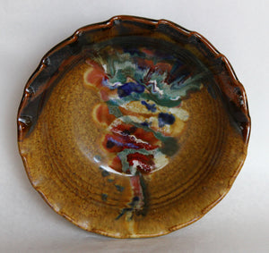 Brown Serving Bowl
