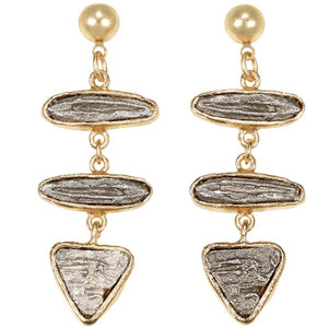Contempo Birch Triple Drop Earring