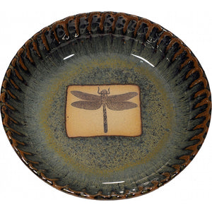 Dragon Fly Pie Plate