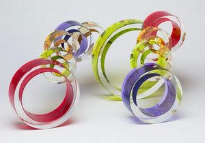 """Eclipse"" Glass Sculpture"