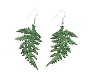 Fern Leaf Earrings
