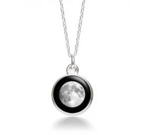MoonGlow Full Moon Necklace