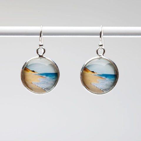 Golden Beach Earrings
