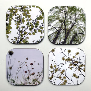 Green Nature Coaster Set