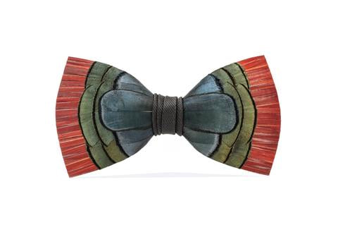 Hemingway Feather Men's Bow Tie