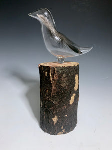 Wild Turkey Glass Feather Sculpture