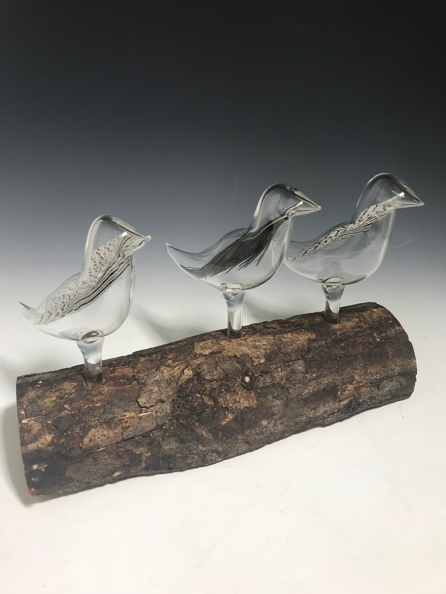 Triple Birds of a Feather Sculpture