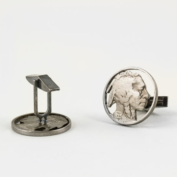 Indian Head Nickel Cufflinks