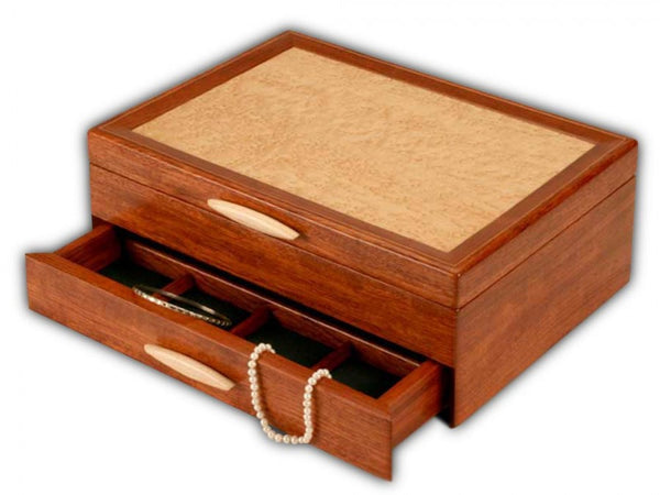 Cascade II One-Drawer Jewelry Box