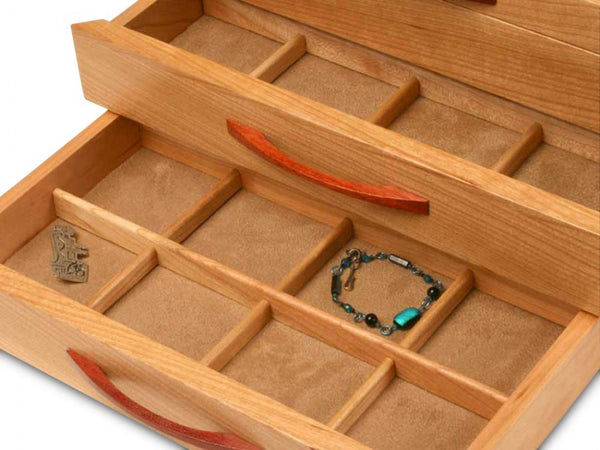 Cherry Wave Jewelry Box