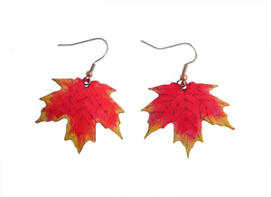 Japanese Maple Earrings