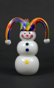 Jester Glass Snowman