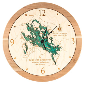 Lake Winnipesaukee Clock