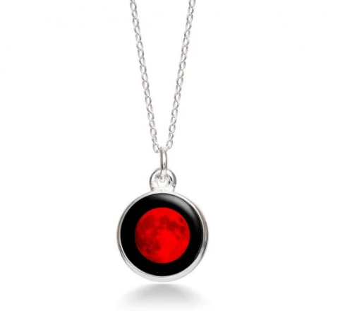 MoonGlow Lunar Eclipse Necklace