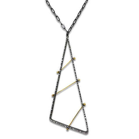 Long Pegged  Necklace