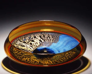 Nightscape Incalmo Glass Bowl