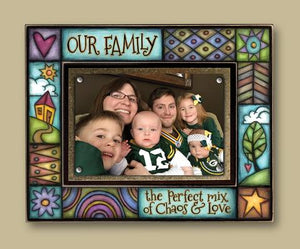 """Our Family...."" Picture Frame"