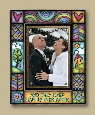 """Happily Ever After"" Frame"
