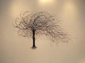 September Tree Wall Sculpture
