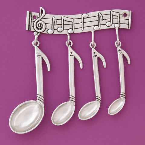 Music Measuring Spoons