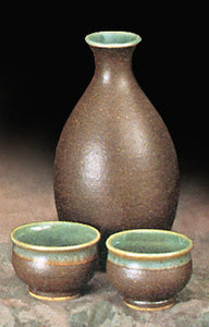 Brown Sake Set