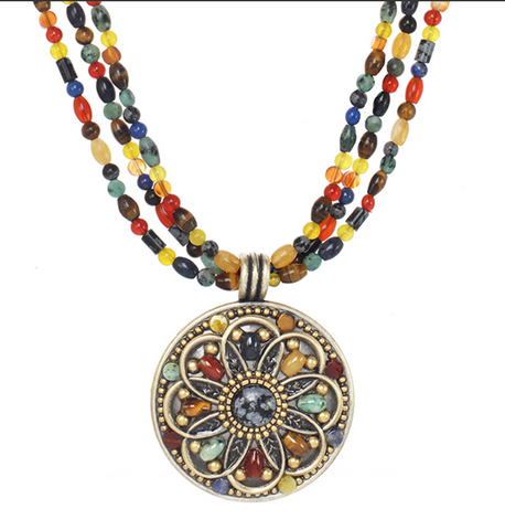 Durango Medallion Necklace