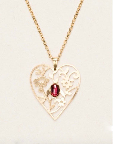 """Blooming Heart"" Pendant"