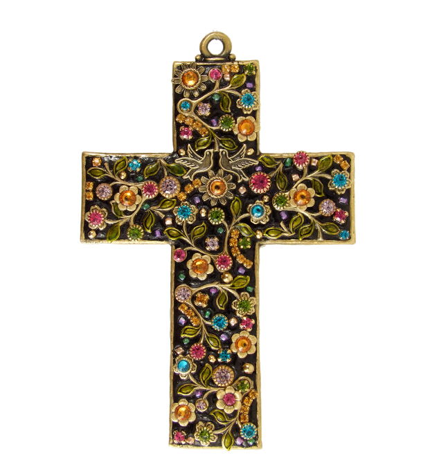 Midnight Garden Wall Cross
