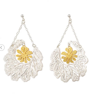 """Floral"" Earrings"