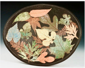 Oval Multi Leaf Bowl