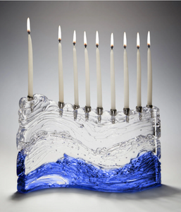 The Bermuda Wave Menorah
