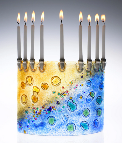 The Abstract  Menorah