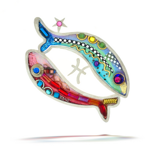 Pisces the Fish Zodiac Pin