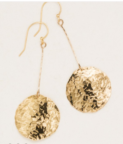 Large Gold Mirador Earrings