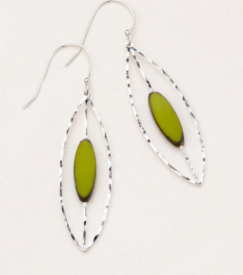 Lime  Sasha Earrings
