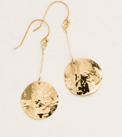 Gold Mirador Earrings