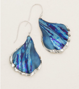 Blue Mermaid Tale Earrings