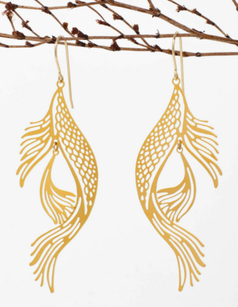 """Bok"" Earrings"