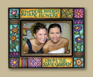 """Sisters....Garden"" Picture Frame"