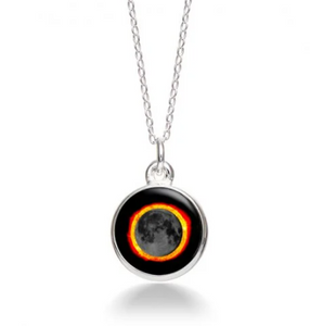 MoonGlow Solar Eclipse Necklace