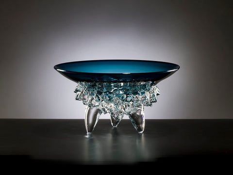 Steel Blue Low Thorn Bowl