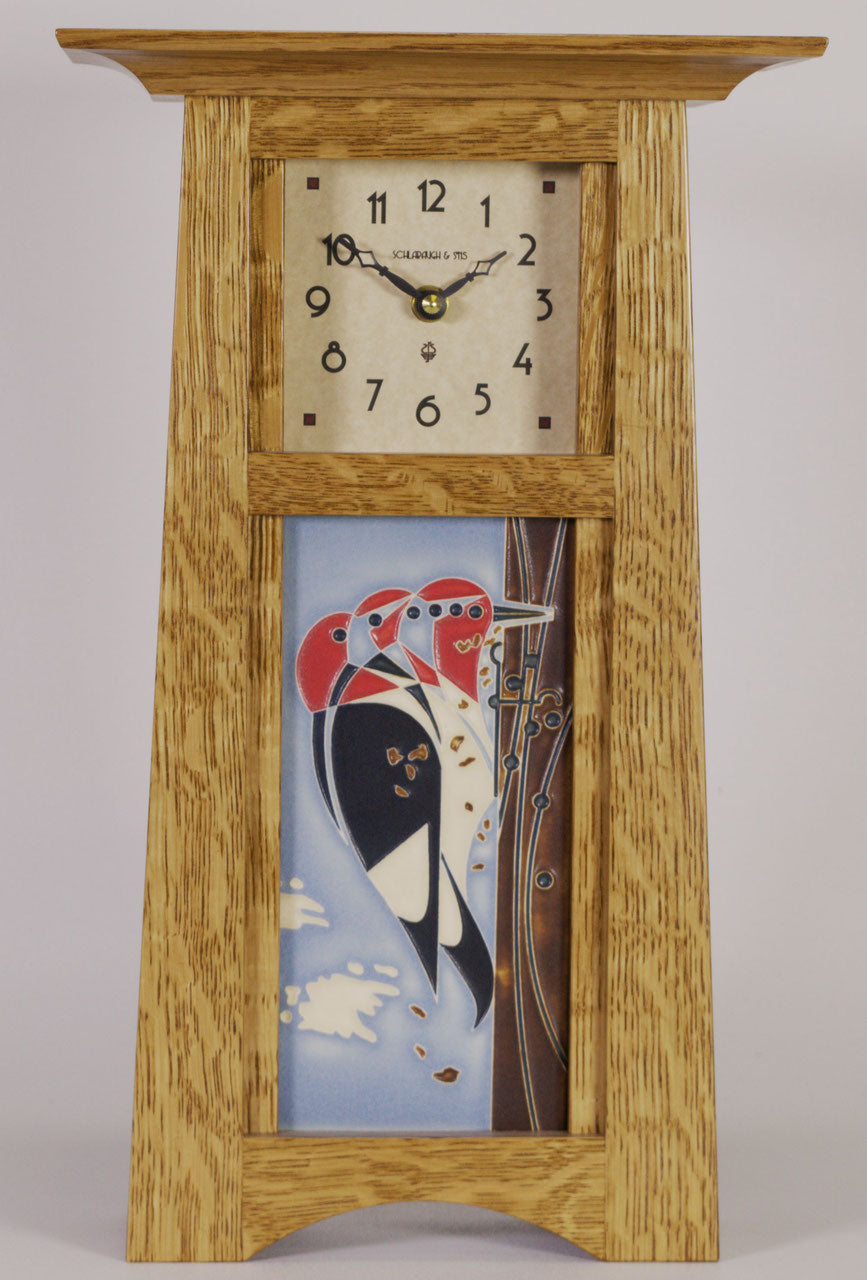 Woodpecker Clock