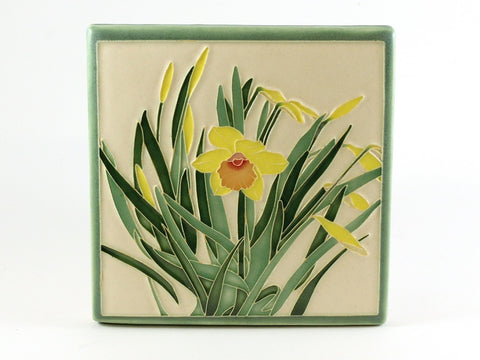 Yellow Daffodil Tile